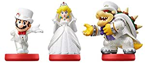 Amiibo 'Collection Super Mario' - Bowser+Mario+Peach (Tenues de mariage)