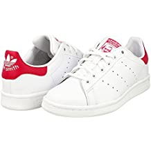 premium selection 636bc c47d7 adidas Originals Adidas Stan Smith J B32703, Baskets Fille, Blanc (Footwear  White