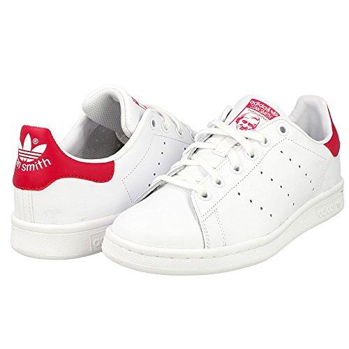 new arrival cc182 3ca2b adidas Stan Smith J, Scarpe da Basket Unisex – Bambini, Bianco (Footwear  White
