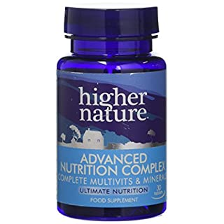 Higher Nature Advanced Nutrition Complex Pack of 30