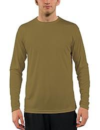 3ab1334bb2139 Vapor Apparel - Camiseta de Manga Larga con protección Solar contra Rayos  UV - para Hombre