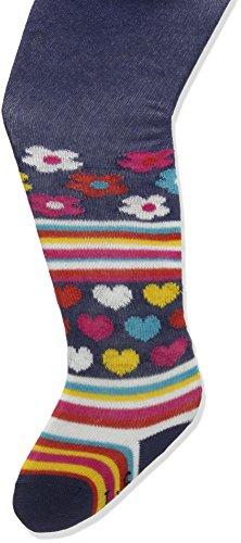 Lilly and Sid Baby-Mädchen Strumpfhose Funky Stripe Tights Mehrfarbig, 92 (Multi-stripe-strumpfhose)