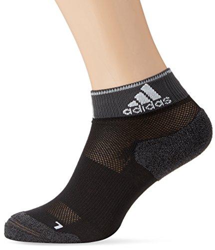 adidas Trainings Running Energy dünne gepolsterte Knöchelsocken, schwarz, 40-42, AA6006 (Running Socken Adidas)