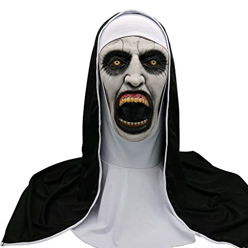 Nonne Horror Maske - Halloween Maske - Cosplay Kostüm Maske - Party Rave Maske - Erwachsene Und Kinder (Color : (Promi Kostüm Vampir)