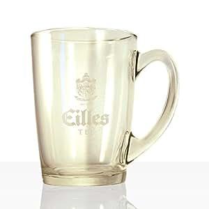 EILLES 1 tasse à thé en verre avec logo