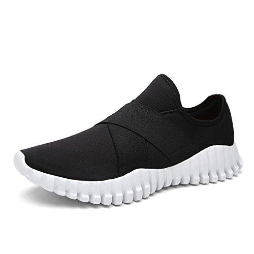 Men's Flexible Lightweight Comfortable Outdoor Running Shoes Black