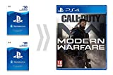 PSN Card per Call of Duty - Modern Warfare   Codice download per PSN - Account italiano - Digital Standard Edition   Code Jeu PS4 - Compte français