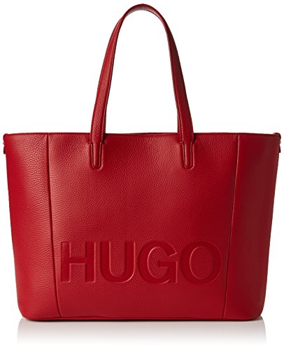 HUGO Damen Mayfair Shopper Schultertasche, Rot (Bright Red), 15x29x44 cm