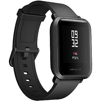 AMAZFIT Bip Huami Reloj Inteligente con GPS, Monitor de Ritmo cardíaco, táctil, Impermeable