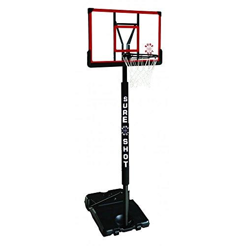 Sureshot Portable Basketball Unit 514ACR, w/ Padding