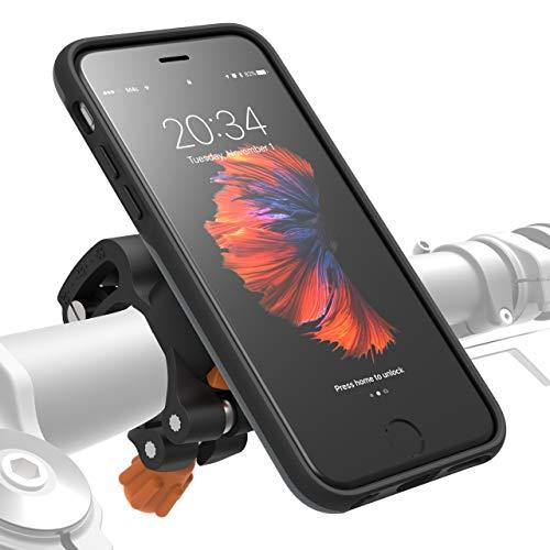 MORPHEUS LABS M4s iPhone 6/ 6s Fahrrad Halterung Fahrradhalterung - Handyhalterung  & iPhone 6/ 6s Hülle magnetisch fürs Rad, DropTest, mit Quick Lock, Bike-Kit passend für meisten Lenker grau