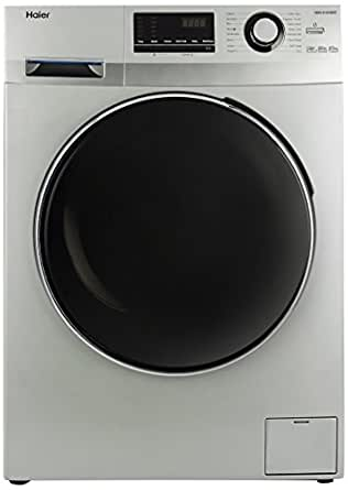 Haier 6.5 kg Fully-Automatic Front Loading Washing Machine (HW65-B10636NZP, Titanium Grey)