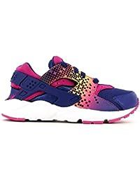 Nike Huarache Run Print (Ps), Zapatillas de Deporte Para Niñas
