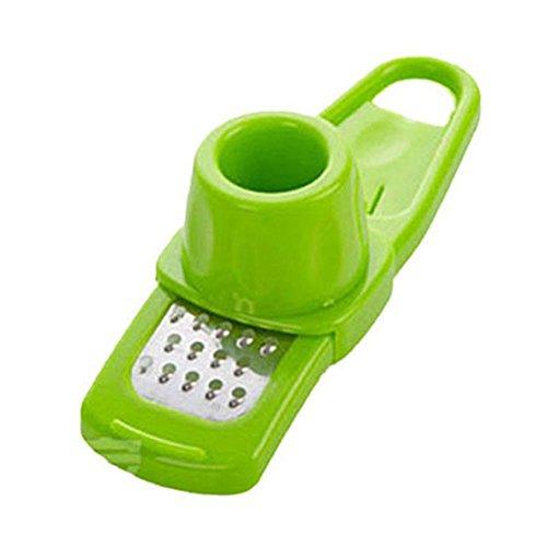 ZORE  Suministros de Cocin,Herramienta Multifuncional de la Cocina de la Trituradora del Cortador de La Máquina de Cortar (Green)