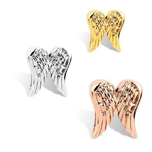 THIORA® - 'Engel' Anhänger | Angel Charm | Mesh Armband | Charmband Charms (Gold) (Gold Angel Charms)