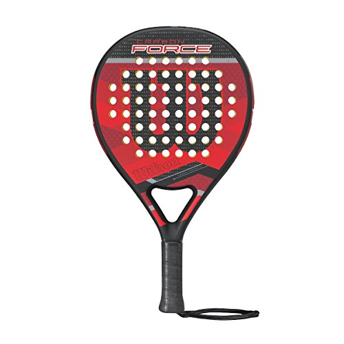 Wilson Carbon Force Paddle Rkt BKRD Pala de pádel