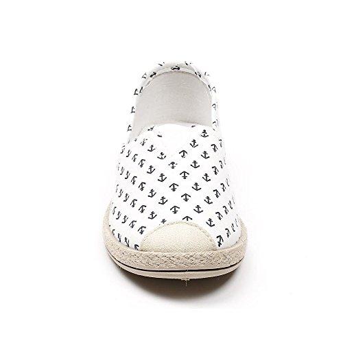 Ideal Shoes, Mocassini donna Bianco