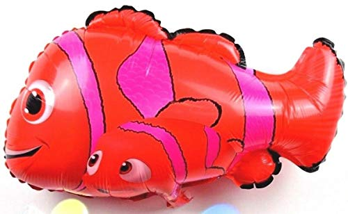 enballon NEU 3D Fische findet Nemo Papa Familie Angeln Party ()