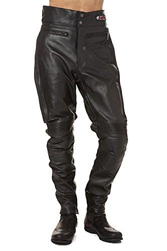 Zerimar Pantalón Hombre   Pantalón de Cuero Hombre   Pantalones Hombre Moto...