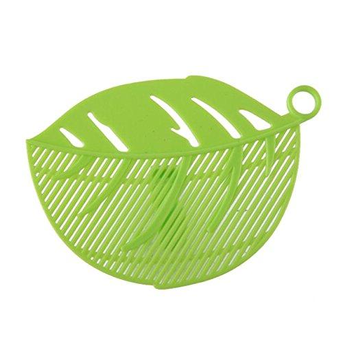 Pnizun - Durable 1PC Sauber Blatt-Form-Reis waschen Siebreinigung Gadget Küche Clips Werkzeuge gut gestaltete Reinigung Reis-Werkzeug gebaut [B ] (Wasserdicht Königin Blatt)