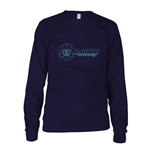 Darth Industries - Herren Langarm T-Shirt, Größe: XXL, dunkelblau