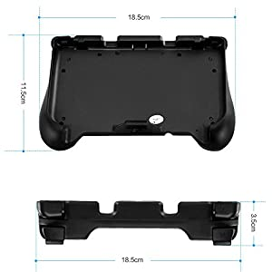 BestFire Power Grip for New 3DS XL & 3DS LL Rechargeable Protective Handle Grip with USB Cable from BestFire