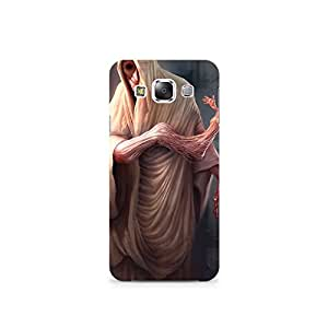 TAZindia Designer Printed Hard Back Case Mobile Cover For Samsung Galaxy E7