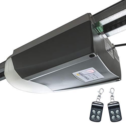 Schellenberg 60916 Garagentorantrieb Smart Home fähig, Garagentor Antrieb mit 1000 N, Tore bis 14 m² Fläche, 868,4 MHz Funkfrequenz für mehr Sicherheit