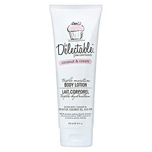 Be Delectable by Cake Beauty Coconut & Cream Body Lotion by be Delectable from Cake Beauty