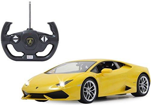 24 4x4 Rc 1 Car (RC Lamborghini Huracan - ferngesteuert inkl. Fernbedienung - RTR (wählen Sie Farbe & Maßstab) (1:14 - gelb))