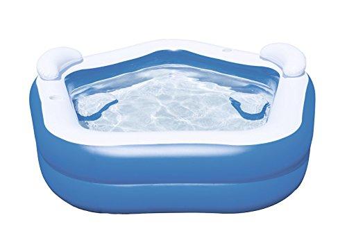 Bestway 54153 piscina gonfiabile, bianco