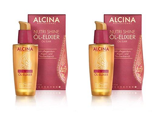 Alcina Nutri Shine Öl-Elixier 50ml. 2x
