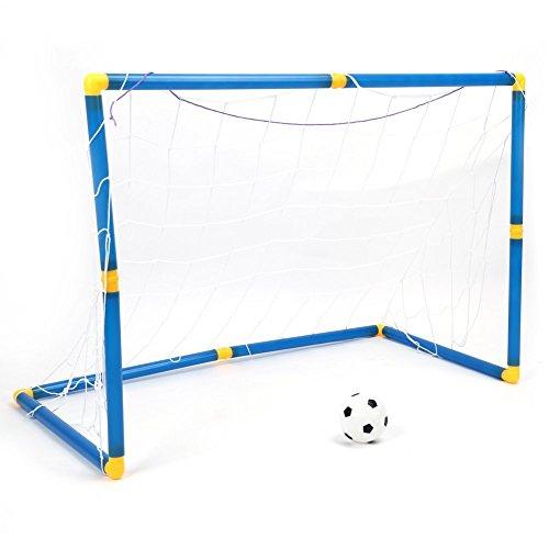 Los niños de fútbol kit - fútbol infantil de fútbol de la bola de la bomba portátil con portería