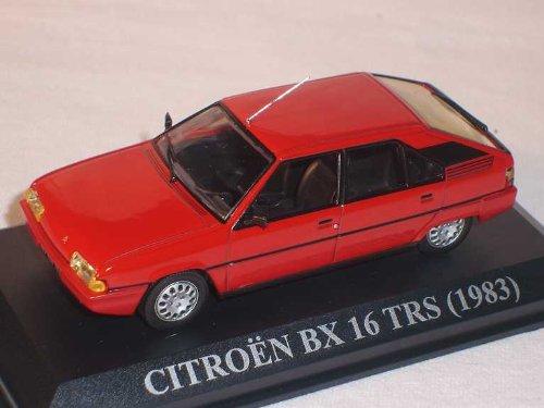 CITROEN BX 16 TRS 1983 ROT 3 TÜRER 1/43 DEL PRADO MODELL AUTO MODELLAUTO SONDERANGEBOT - Citroen Modell