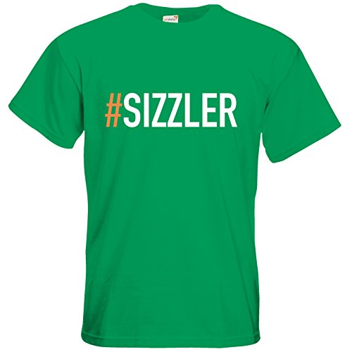 getshirts - SizzleBrothers Merchandise Shop - T-Shirt - SizzleBrothers - Grillen - Sizzler Kelly Green