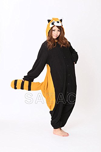 Japan Sazac Original Kigurumi Pajamas Halloween Costumes Red Panda - Lesser Panda -Cosplay (japan import) by Unknown (Red Panda Kostüm)