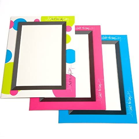 Blank Greeting Cards w/ Envelope Use as Landscape/Portrait (Pack of 6) Printed Insert/Photo - 102x152mm (GC2) - Pack of 1