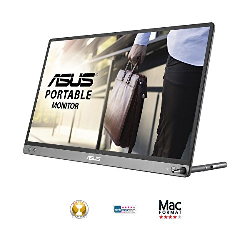 Get ASUS ZenScreen MB16AC 15.6-Inch USB Type-C IPS FHD 1920 x 1080 Portable Monitor – Black Discount