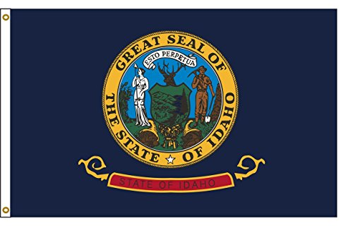 Idaho 5ftx8ft Nylon State Flagge 5x 8Made in USA 5'x 8' -