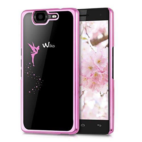 kwmobile Wiko Highway 3G / 4G Hülle - Handyhülle für Wiko Highway 3G / 4G - Handy Case in Pink Transparent