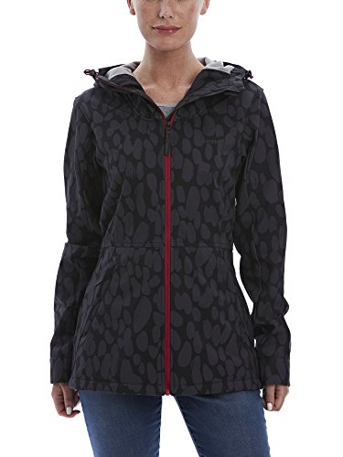 Bench Damen Stuckup B Softshelljacke, Black, M