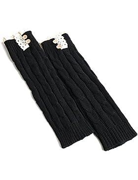 2 Paar Trachtenstrümpfe | Trachtensocken Trachtenstrümpfe Socken Kniestrümpfe mit Zopfmuster