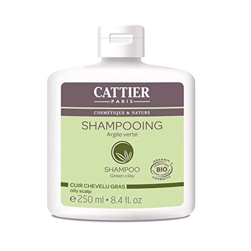 Cattier Shampoo all' argilla verde per capelli grassi 250ml