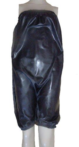 Preisvergleich Produktbild Gummi Hosen / Unterhose, Spielanzug, Silikon/Naturlatex-mix. Schwarz. Größe XXL / XXXL.
