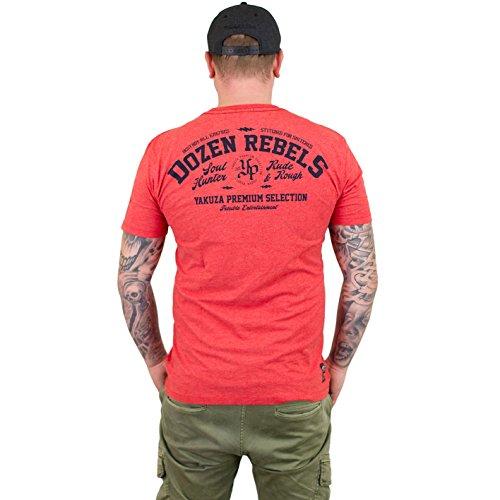 Yakuza Premium T-Shirt 2410 Rot