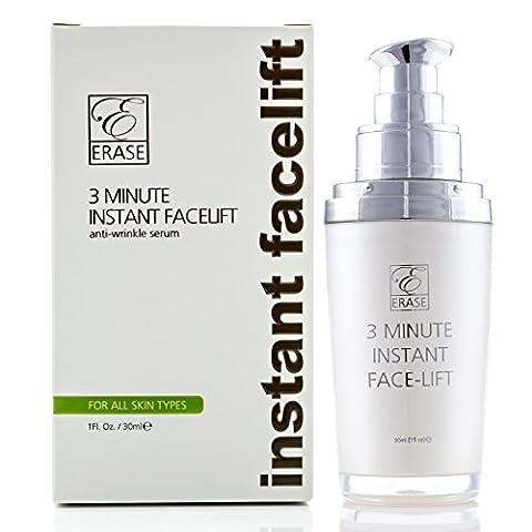 Erase Cosmetics 3 Minute Instant Face-Lift Serum