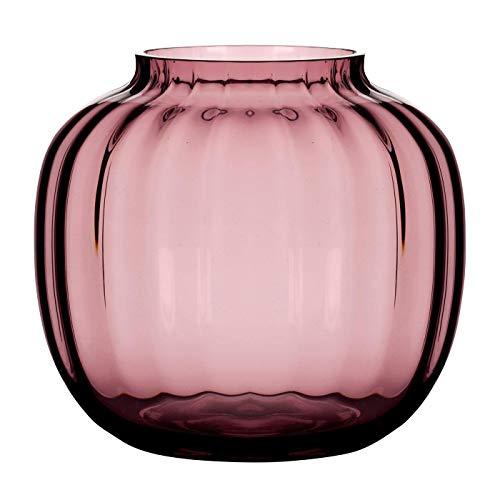 Holmegaard - Vase - Primula - Glas - mundgeblasen - Höhe: 14,5 cm - Farbe: Pflaume, Rosa, Violett -