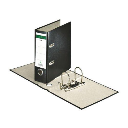Preisvergleich Produktbild Centra Ordner für Sonderformate, Pappe (RC), A5 hoch, 7 cm Rückenbreite, 70 x 288 x 180 mm, Schwarz, 220206