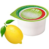 AM Gel Cup acquagel Limón con Edulcorante–Agua gelificata listo al uso 24tarros de 125g