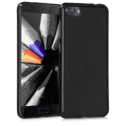 kwmobile ASUS Zenfone 4 Max (ZC520KL) Hülle - Handyhülle für ASUS Zenfone 4 Max (ZC520KL) - Handy Case in Schwarz matt